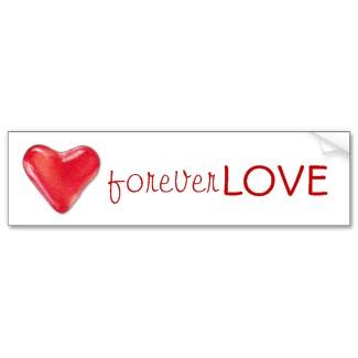 Candy Heart 2 Bumper Sticker