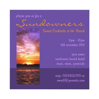 10 violet_sunset_beach_party_invitation