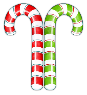 33 2 Candy Canes
