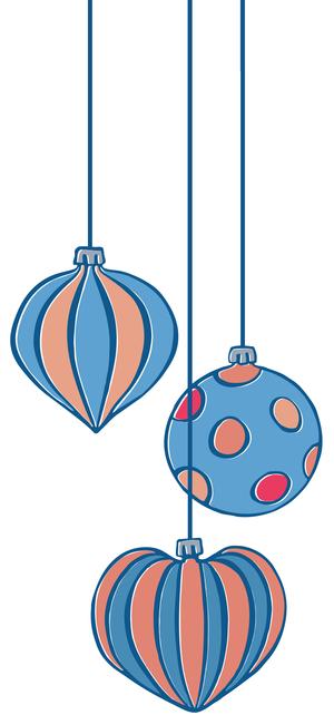 33 Retro Christmas Ornaments