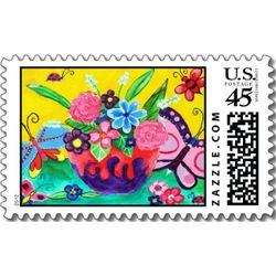 Butterflies_ladybugs_postage_stamp