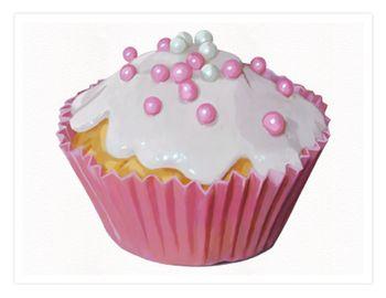20 pink cupcake