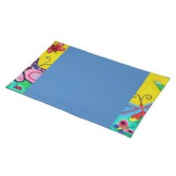 Butterflies_ladybugs_blue_placemat