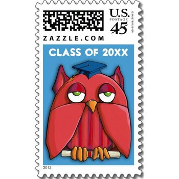 19 red_owl_grad_aqua_stamp_postage-p172410706989264037bh34u_500