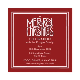 48 merry_christmas_white_on_red_party_invitation-161388502322897373