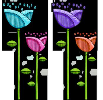 09 Fun Doodle Flowers