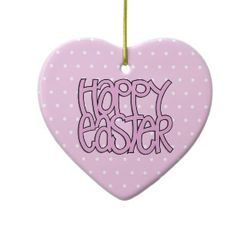 Happy_easter_pink_heart_ornament