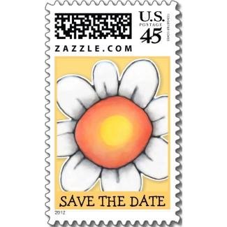 45 daisy_joy_yellow_save_the_date_stamp-p172100890424292213bh34u_325