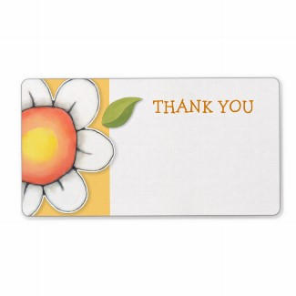 45 daisy_joy_yellow_thank_you_sticker_label-p106064067459290926bh3jf_325