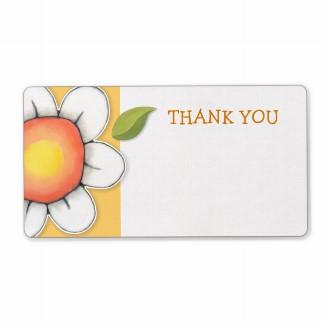 45 daisy_joy_yellow_thank_you_sticker_label-p106064067459290926bh3jf_325