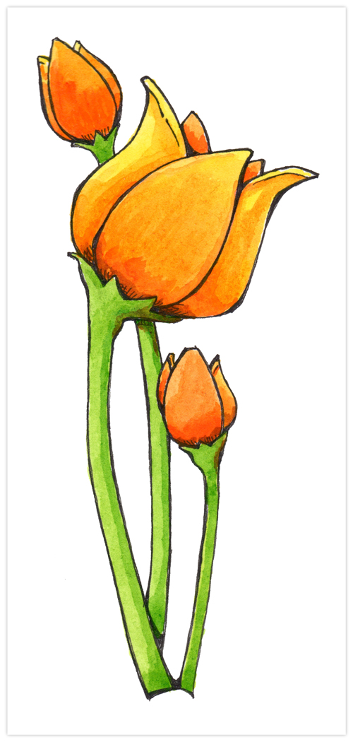 61-Painted-Doodled-Flowers