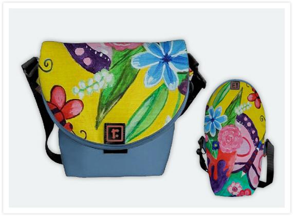 116-Butterflies-&-Ladybugs-Mini-Messenger-bag