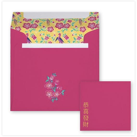 137-Sakura-Floral-Batik-Chinese-New-Year-Square-Envelope