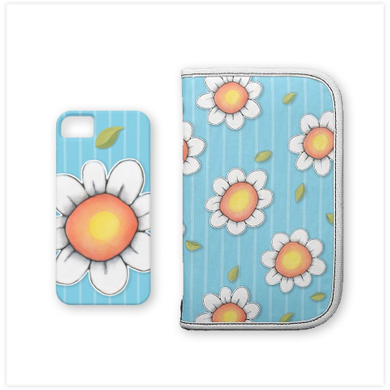 Daisy-Joy-blue-iphone-case-folio-organizer