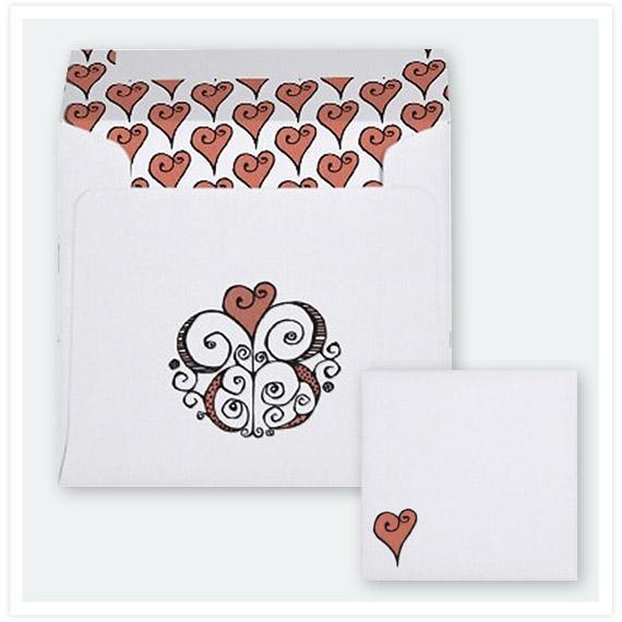 Heart-Motif-red-Square-Envelope