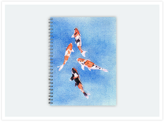 118-floating-koi-notebook