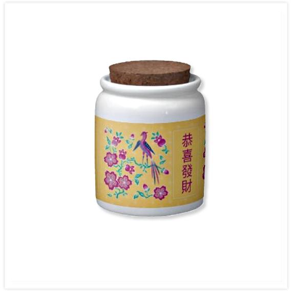 137-Sakura-Floral-Batik-Chinese-New-Year-Cnady-Jar