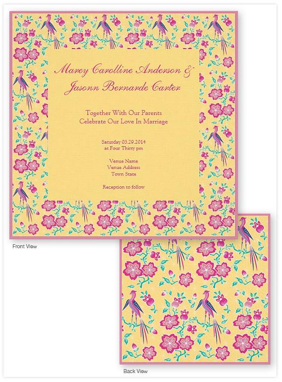 Sakura-Floral-Batik-yellow-Wedding-Invitation-2