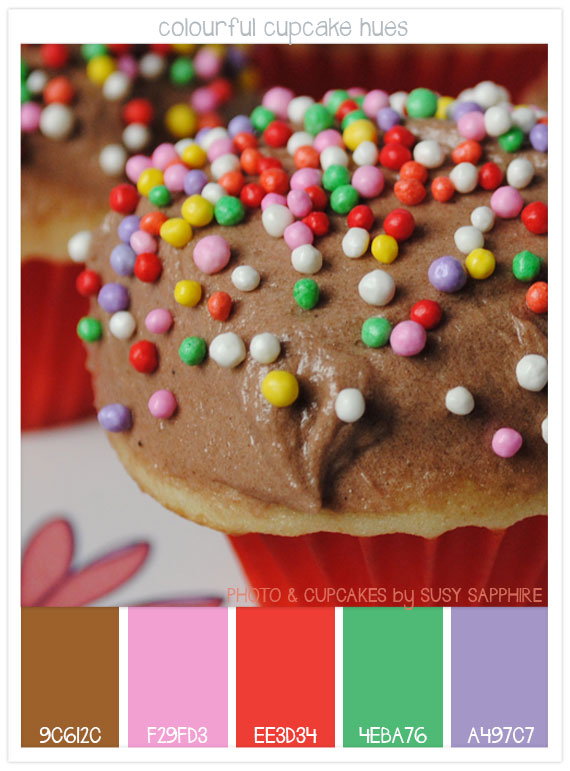 Colourful-cupcake-hues