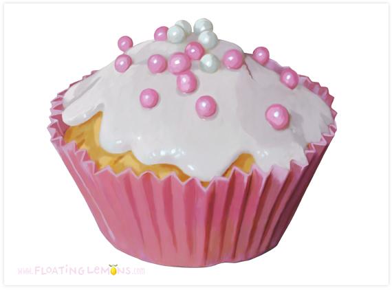 Pink-cupcake-art