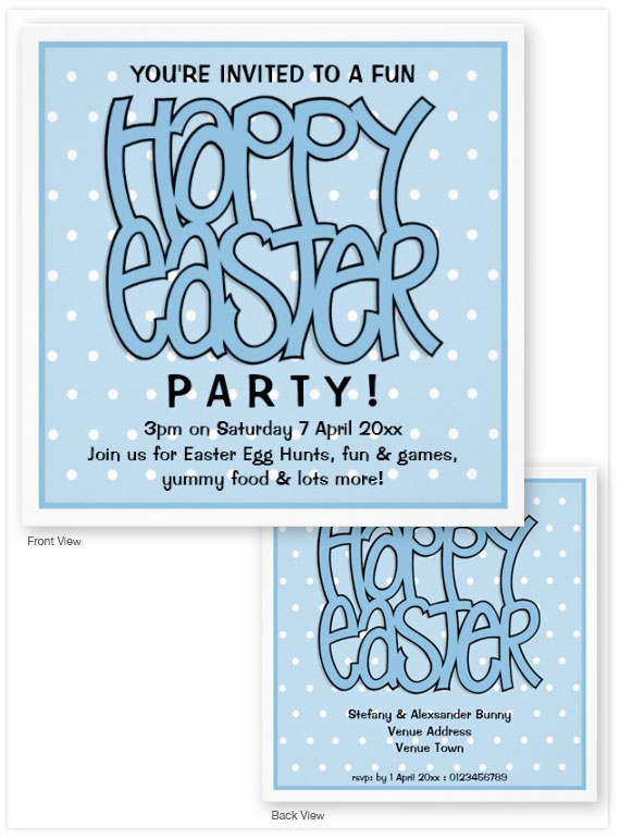 Happy-Easter-blue-Invitation-Card