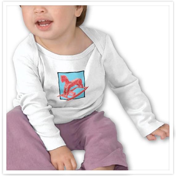 Red-Rocking-Horse-blue-Infant-Long-Sleeved