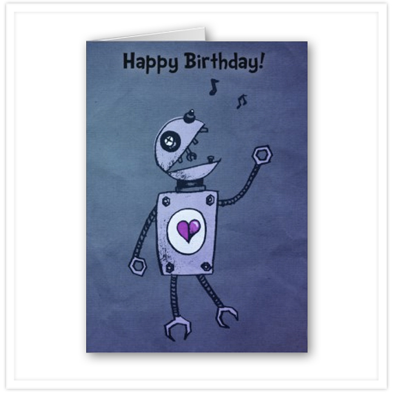 Artist Showcase Cute and Strange Creatures on Birthday Cards – Strange Birthday Card