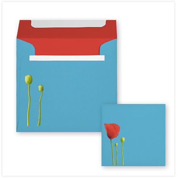 125-Red-Poppy-aqua-Invitation-Envelope