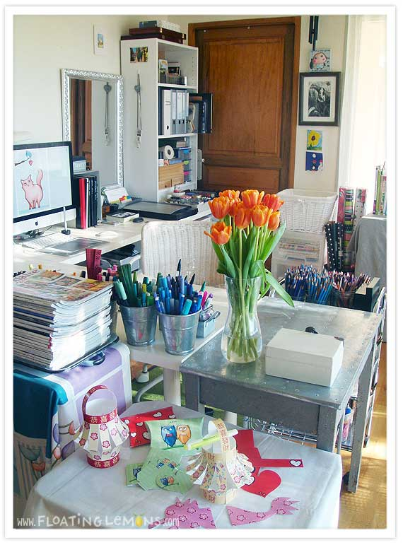 The Studio Space Is Part Of My Open Plan Living/dining/kitchen Room (behind  The Camera), Which I Love As Then I Feel As Though Iu0027m In The Midst Of  Things ... Part 77