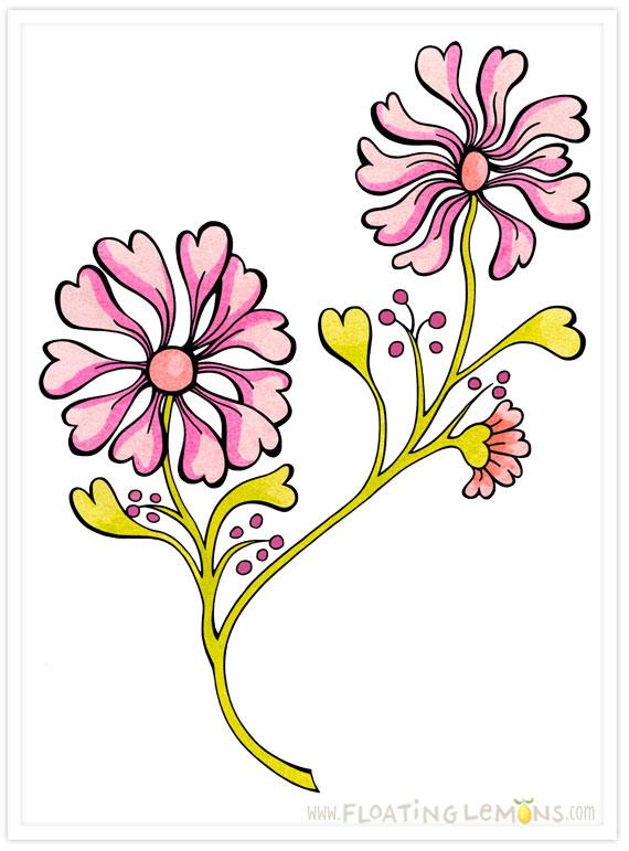 Doodle-heart-flowers-3