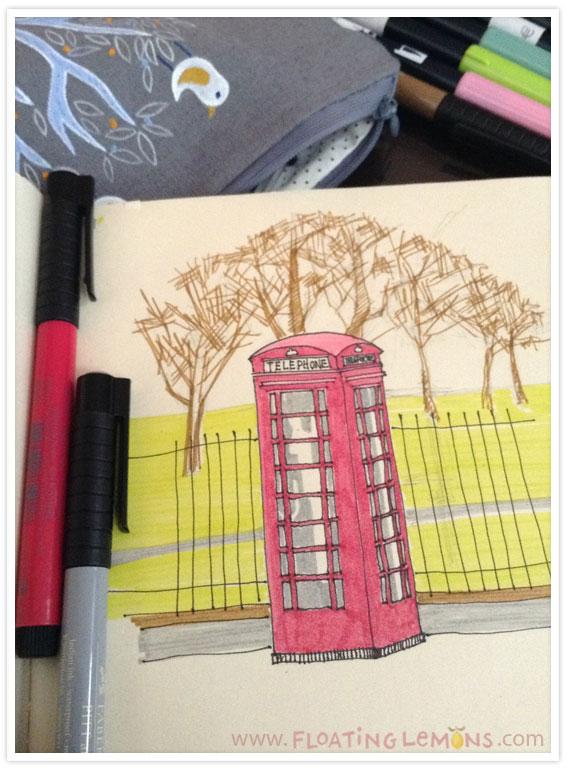 British-telephone-booth-sketch