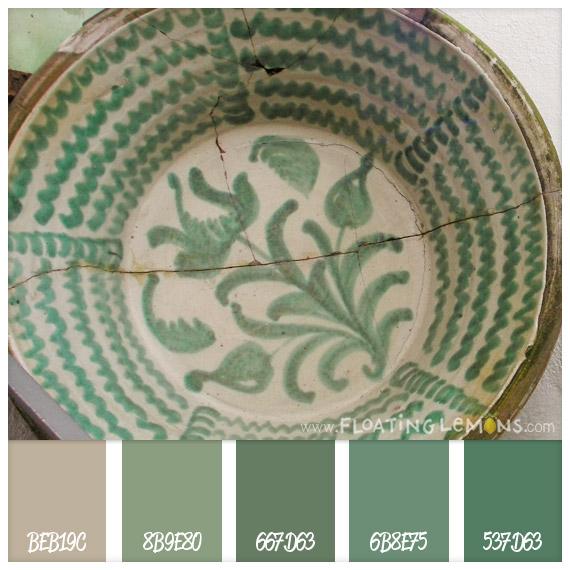 Ceramic-green-hues