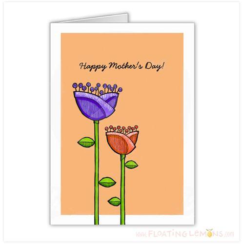 Fun-Doodle-Flowers-orange-purple-mothers-day-card