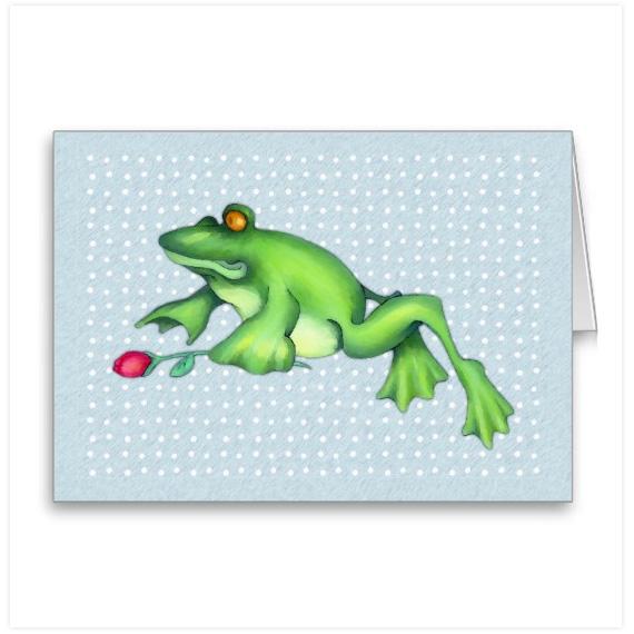 Froggy-love-card