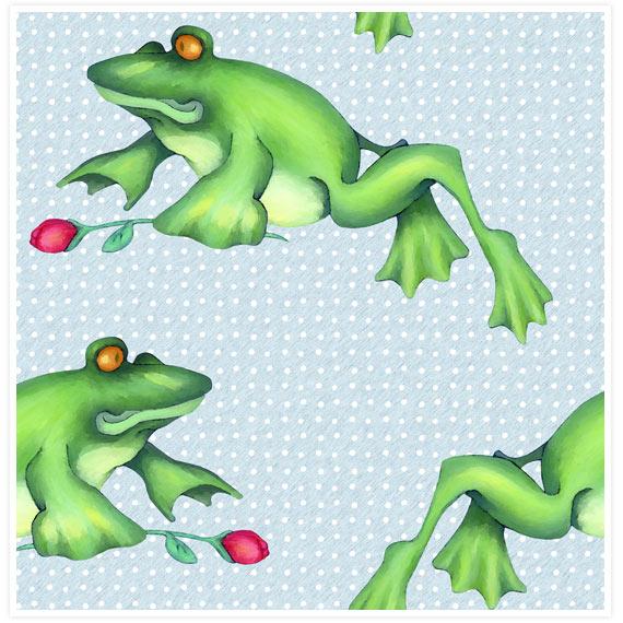 Froggy-love-spoonflower