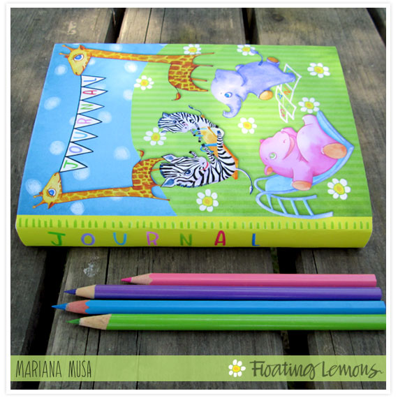 Baby Wild Animals Playground Journal by Mariana Musa