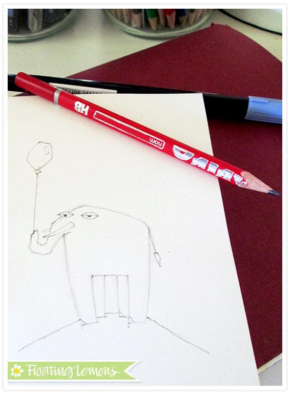 Elephant-balloon-sketch-1