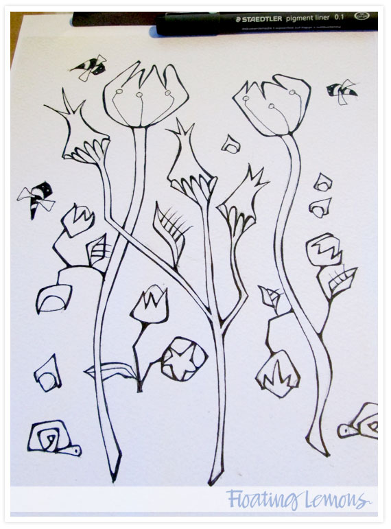 Quirky-botanicals-sketch-2