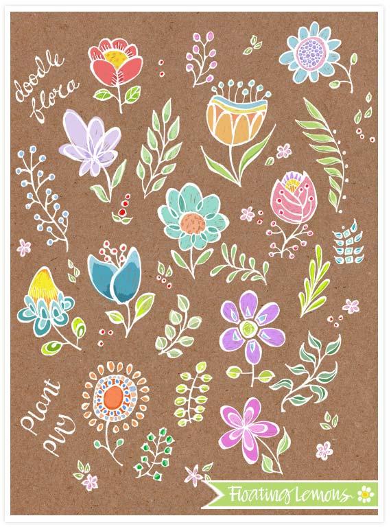 Doodle flora 2