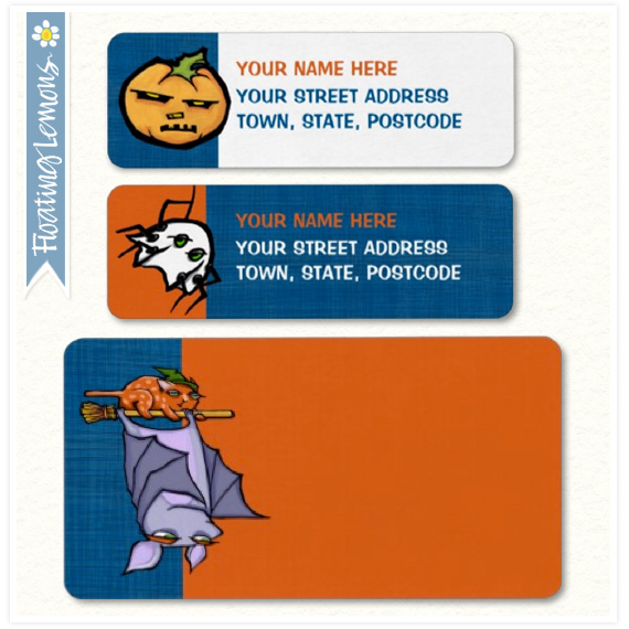 Grouchy-bat-halloween-address-labels
