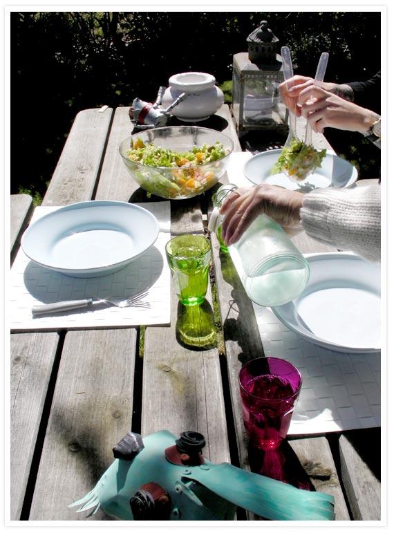 Garden-lunch