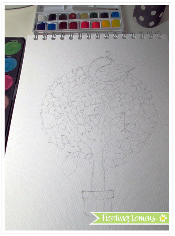 Partridge-pear-tree-sketch
