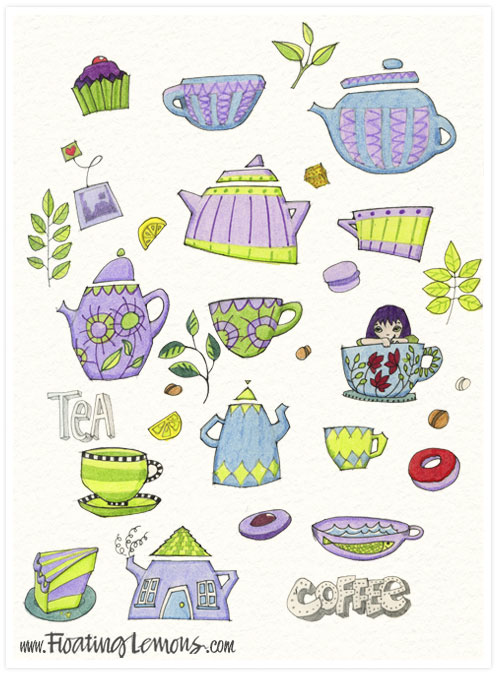 Love-coffee-tea-cups-and-pots