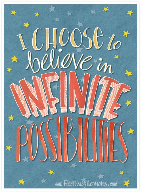 Believe-infinite-possibilities