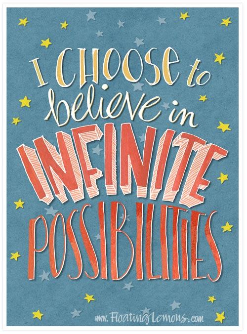 Believe-infinite-possibilities