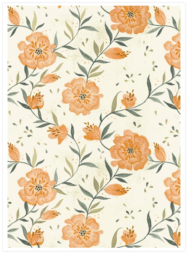 August Florals by Teagan White