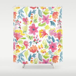 The Fox and the Forest Shower Curtain Society6