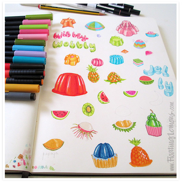Wobbly-jelly-sketches-1-by-Floating-Lemons