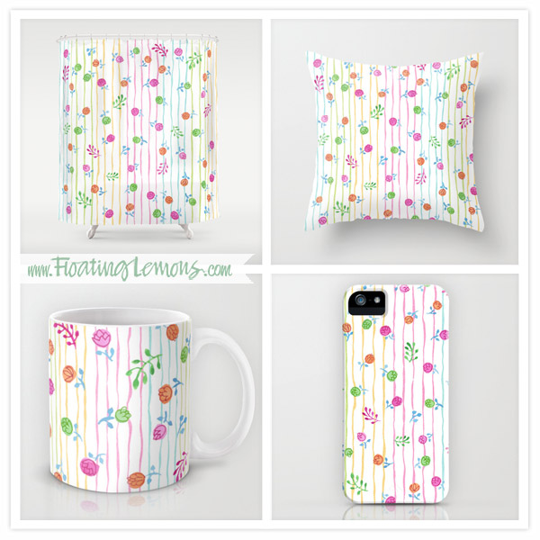 Pretty-Flowers-Floating-Lemons-Society6