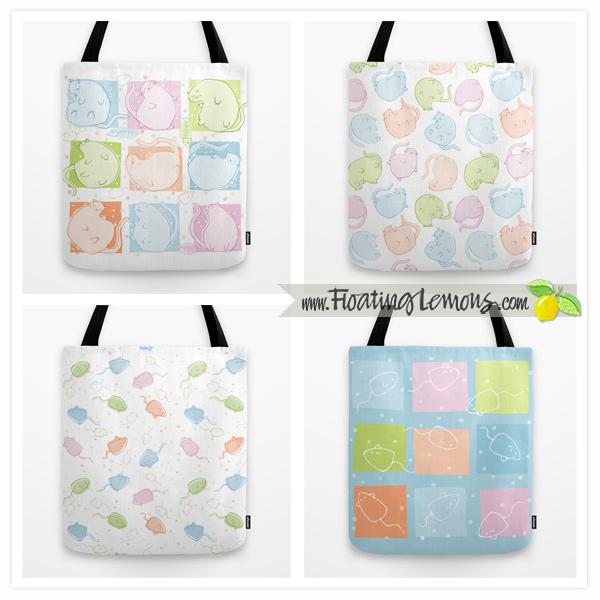 Cat-Blobs-Tote-Bags-by-Floating-Lemons